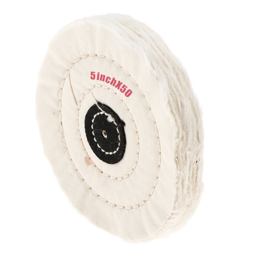 5inch 50 Layer Cotton Cloth Buffing Wheel Pad Polishing Jewelry Accessories For Non-metallic Materials