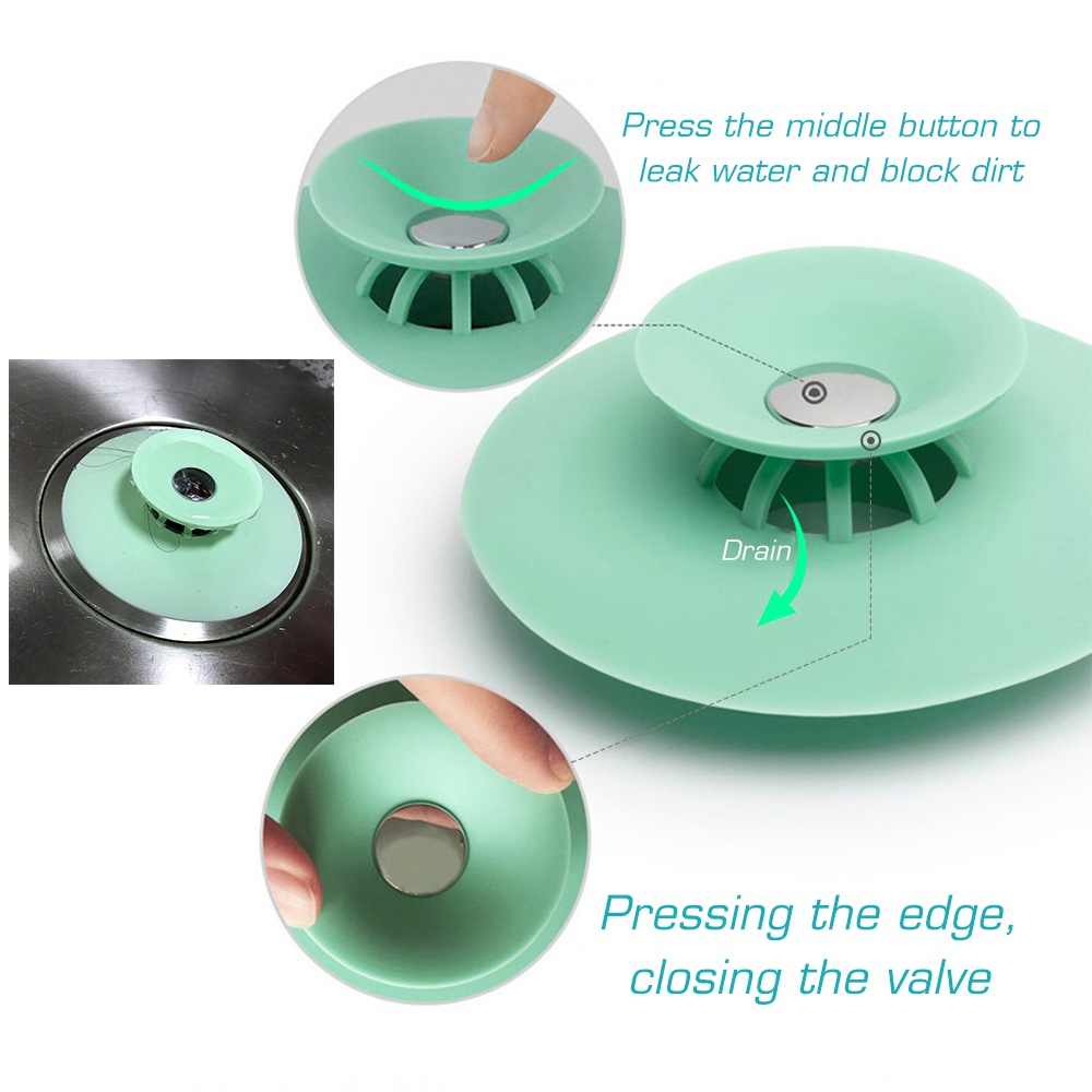 Кухня силикон раковина вилки ванная ванна слив пресс раковина заглушки слив фильтр пробка гаджет для кухни ванной