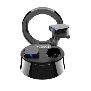 2020 Новые беспроводные Bluetooth наушники TWS 9D HiFi наушники шумоподавление наушники светодиодный дисплей Водонепроницаемый IPX7 с микрофоном
