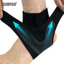 GOBYGO Sport supporto per caviglia elastico alta protezione Sport attrezzature per caviglia sicurezza corsa pallacanestro supporto per cavigliera
