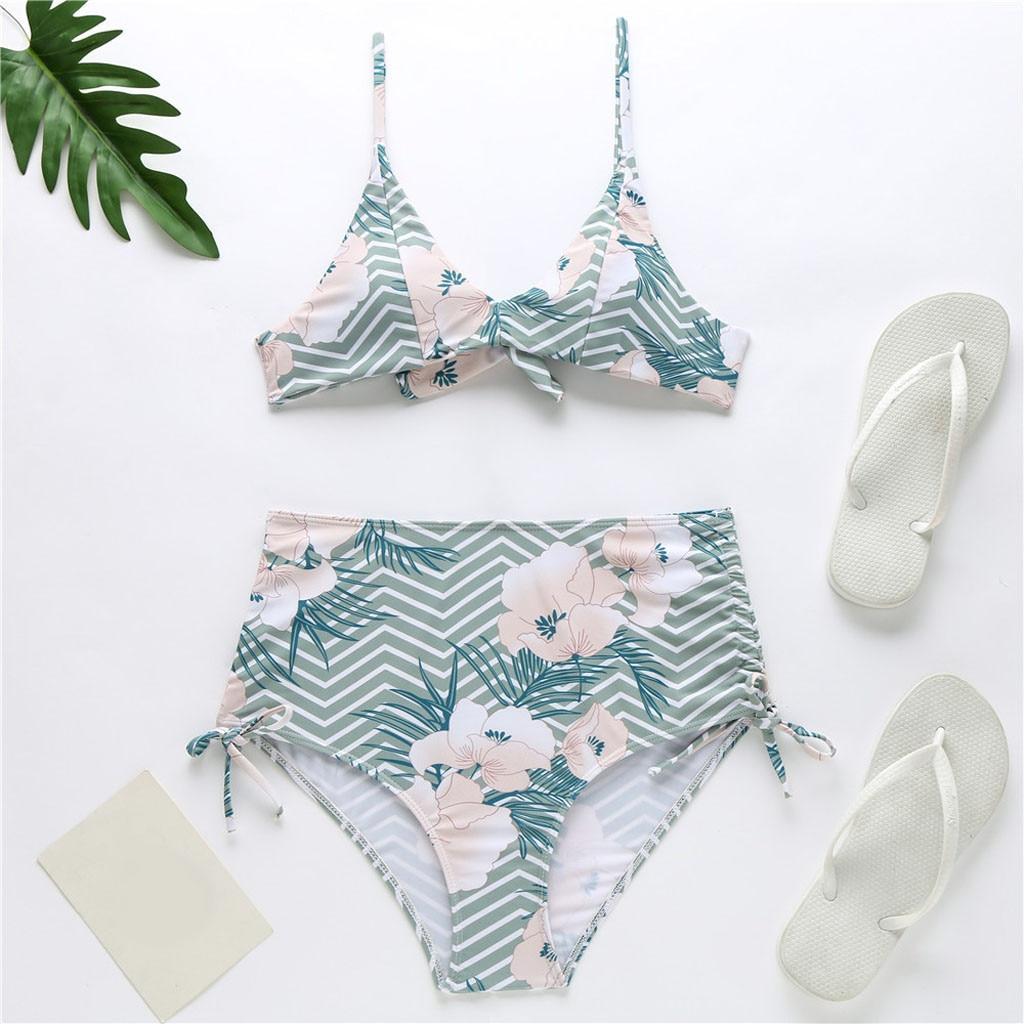 PUSH Up Beachwear nuota-Bikini costume Ricamo