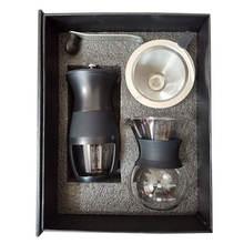 Ручная кофемолка ручная с керамическими заусенцами ручка из