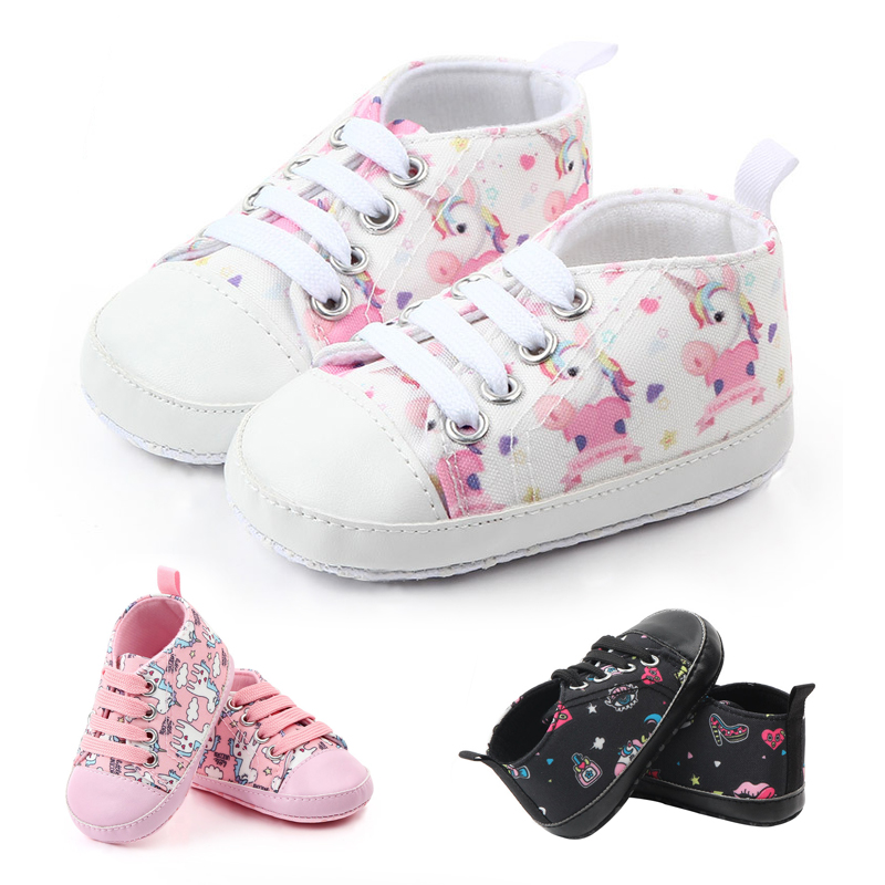 Toddler First Walkers Shallow Cotton Comfort Soft Anti-slip Newborn Baby Shoes Boy Girl  Warm Hand Knitting Cartoon Infant Shoes