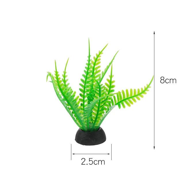 Фото пвх аквариум декоративная имитация искусственный нарфил растение цена