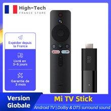 Global de la UE versión Xiaomi Mi TV Stick Android TV 9,0 2K 1080P HDMI Bluetooth Remote Google asistente Control de voz reproductor de medios