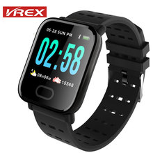 A6 Smart Watch Heart Rate Monitor Sport Fitness Tracker Blood Pressure Call Reminder Men Sport SmartWatch for iOS Android цена