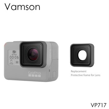 Vamson for Gopro Hero 7 Black 6 5 UV Lens Ring Replacement Protective Repair Case Frame Go pro Accessories VP717 - discount item  10% OFF Camera & Photo