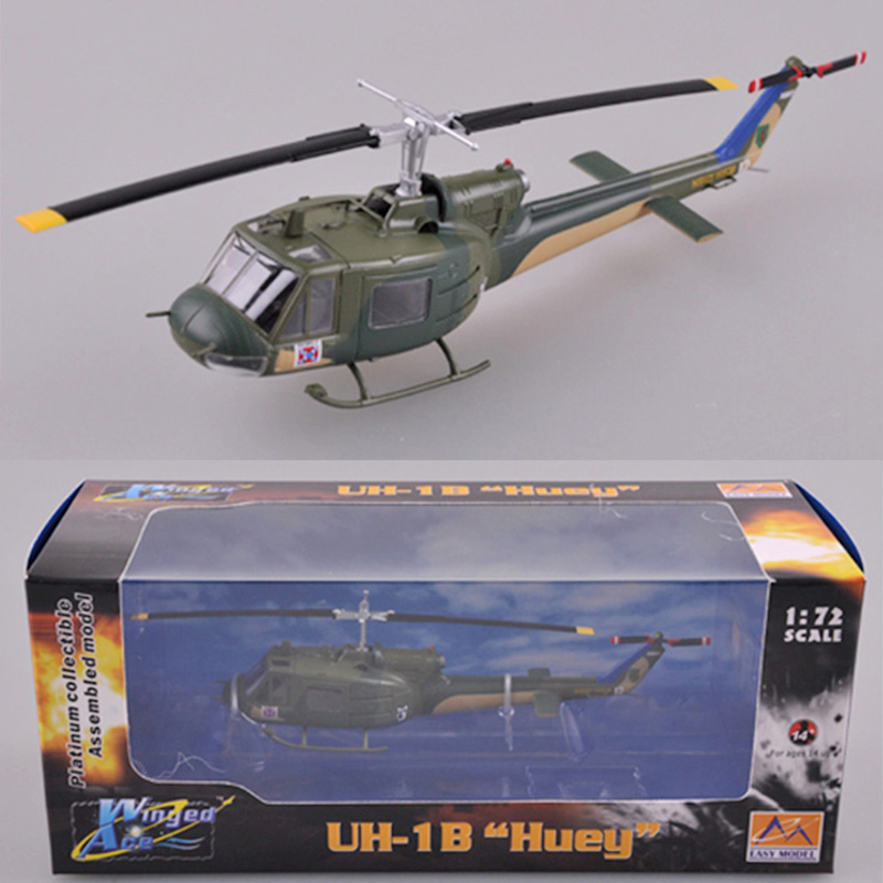 Trumpeter 1:72  U.S. Army Uh-1b Helicopter 36907  Simulation Product Model