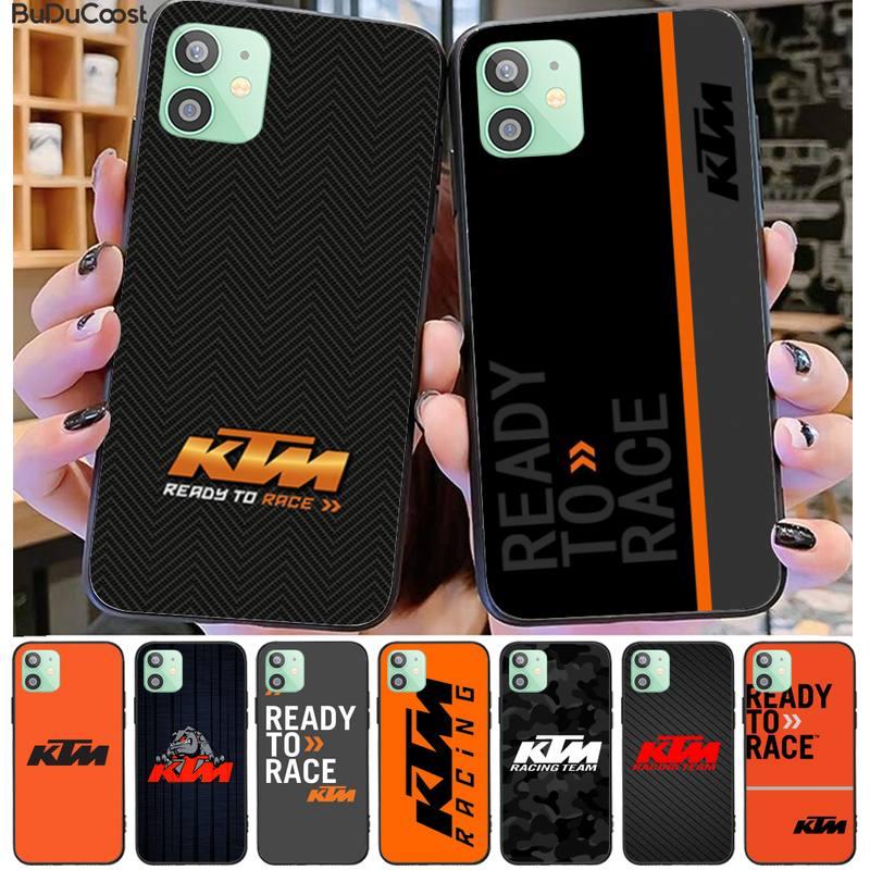 Wangquan KTM motorcycle logo Phone Case Cover For iphone 11 Pro11 Pro Max X XS XR XS MAX 8plus 7 6splus 5s se 7plus case