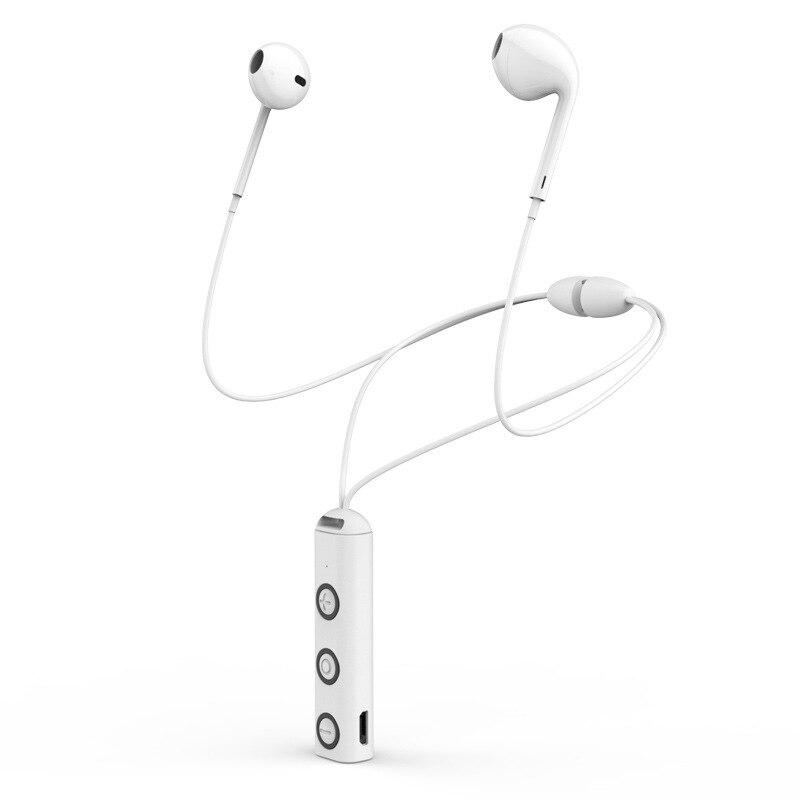 Bluetooth Earphone In Ear Wireless Earphones Magnetic Sport Ear Phones With Mic Mobile In Ear Earbuds in Bluetooth Earphones Headphones from Consumer Electronics