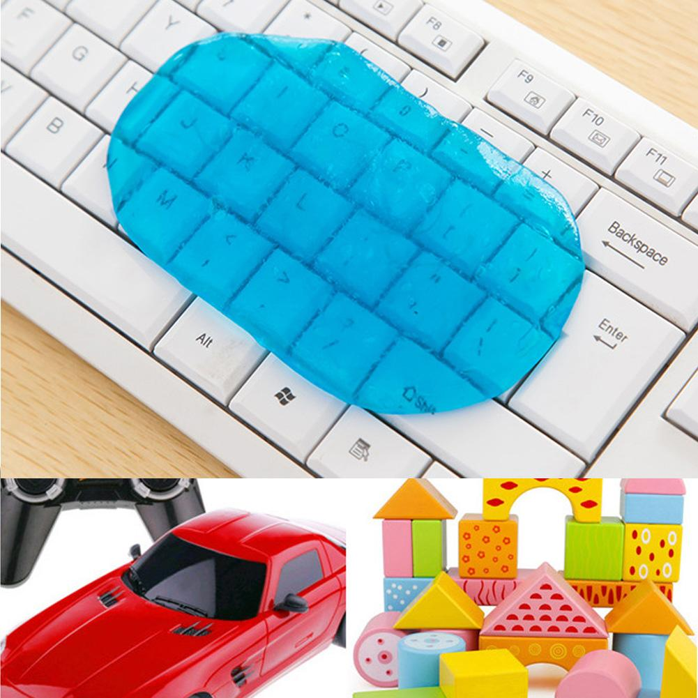 Magic Dust Cleaner Keyboard Car Cleaning Kit Compound Super Clean Slimy Gel For Phone Laptop Computer Accessories