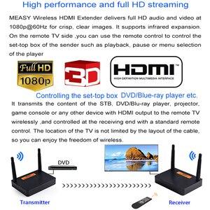 Image 4 - Measy FHD676 5.8GHz/2.4GHz bezprzewodowy nadajnik HD Extender nadajnik Full HD 1080p @ 60Hz 200m odbiornik transmisji Audio wideo