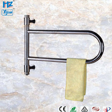 Популярные качели полотенец более теплый стеллаж Электрический полотенцесушитель из нержавеющей стали полированный полотенцесушитель для ванной комнаты HZ-905