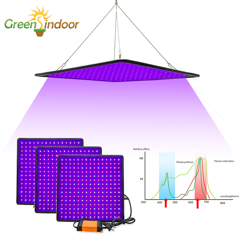 Grow Tent 500W LED Grow Light Full Spectrum Phyto Lamp For Plants Indoor Lights For Flowers Herbs Flowering Fitolampy Fitolamp