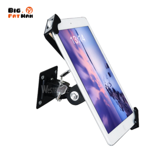 Image 5 - Security Wall Mount for 7 12 Inch Tablets Tablet PC Stand Screen 360 Degree Rotatable Holder Universal with lock for iPad angle