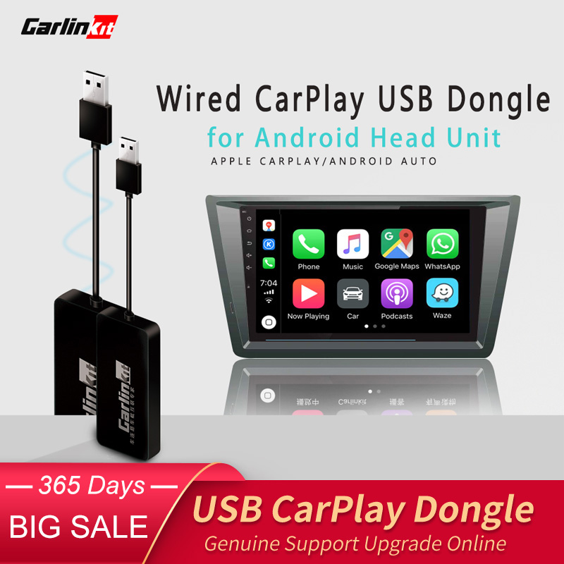 Carlinkit USB Apple CarPlay Dongle And Android Phone Android Auto For Android Car Screen Touch Screen With IOS Carplay System
