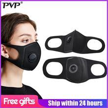 PVP 1Pcs Máscara facial Máscara antipolvo Máscaras anticontaminantes PM2.5 Filtro de carbón