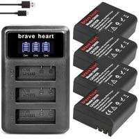 4x Sj4000 Batterij Met Case + Bateria Sj 4000 Batterij Pack Voor Sjcam Sj4000 Sj5000 Sj5000x Sj6000 Sj7000 Sj8000 Sj9000 m10 Camera