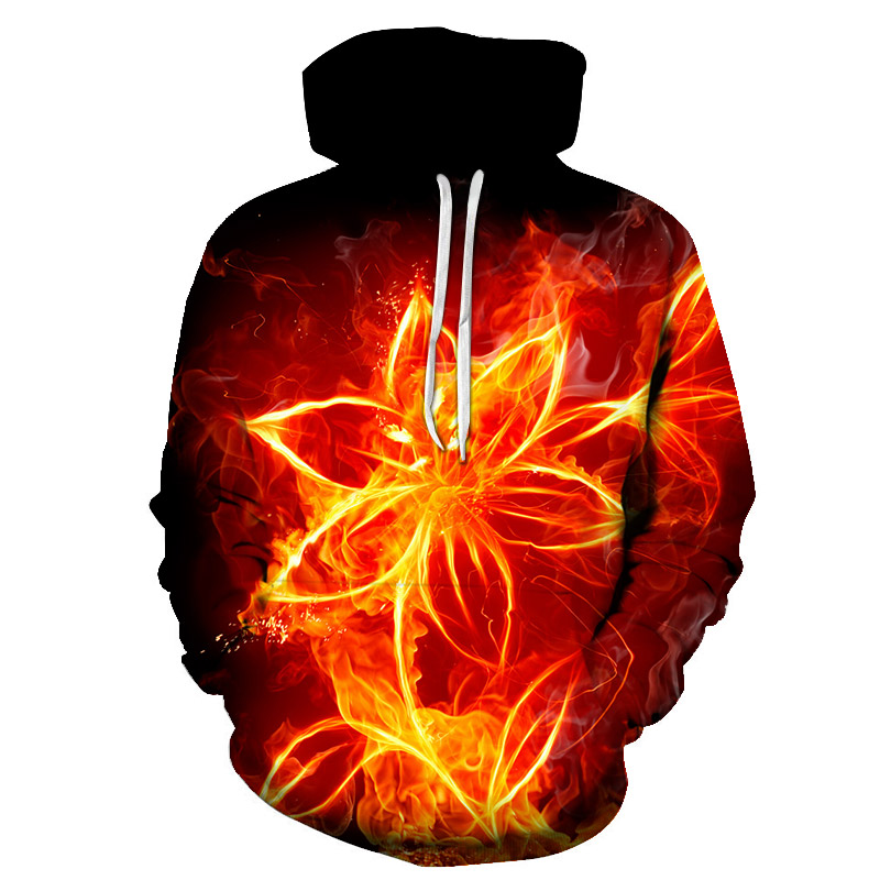 Hot New Design Flowers Hoodies Men/Women 3d Sweatshirts Digital Print Rosa Roses Floral Hooded Harajuku Hoodies Brand Hoody Tops