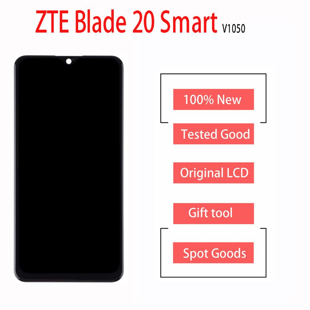 "Original 1560x720 New 6.49""Inch Display For ZTE Blade 20 Smart V1050 LCD Display + Touch Screen Digiziter Assembly With Tools"