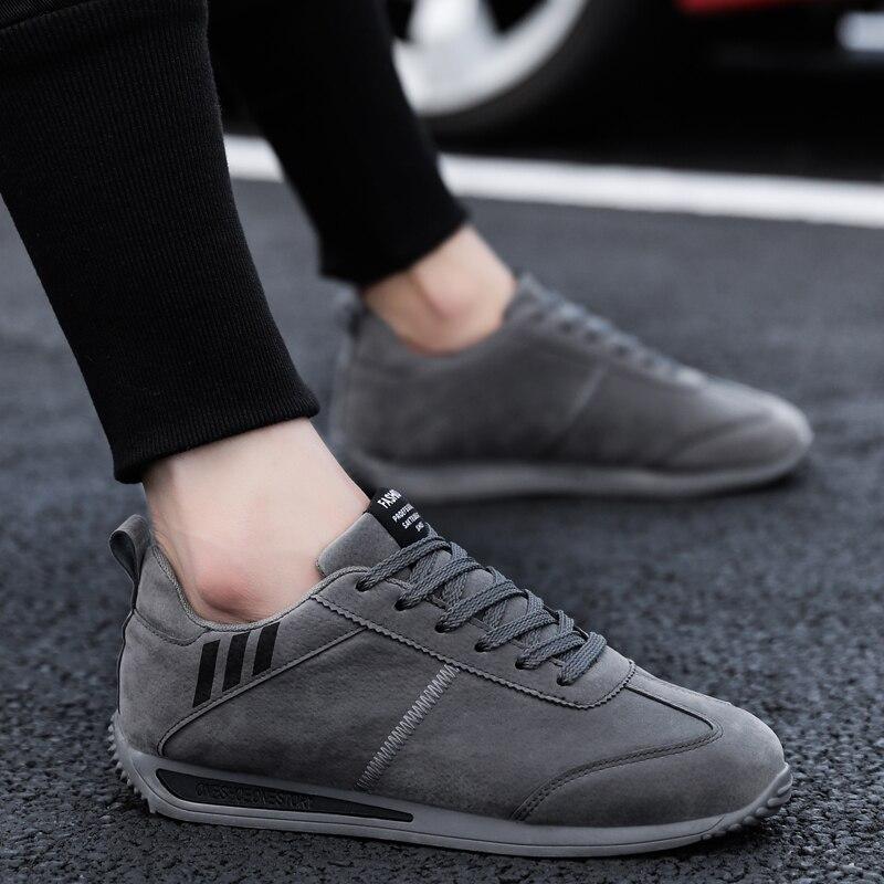 Hommes chaussures printemps automne Style Forrest gump chaussures confortable lumière décontracté haute qualité conduite chaussures 2020 nouvelle mode   AliExpress