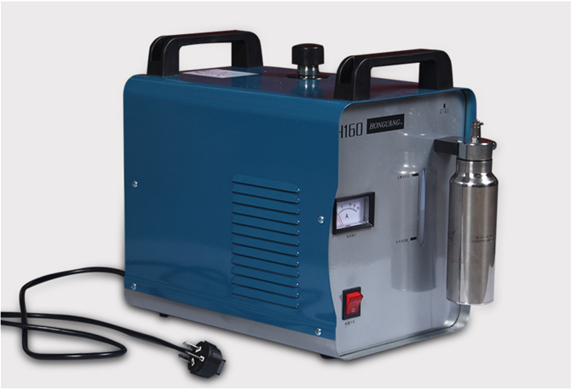 Oxygen Hydrogen Water Welder Flame Polisher Acrylic Flame Polishing Machine 75L/H 220V