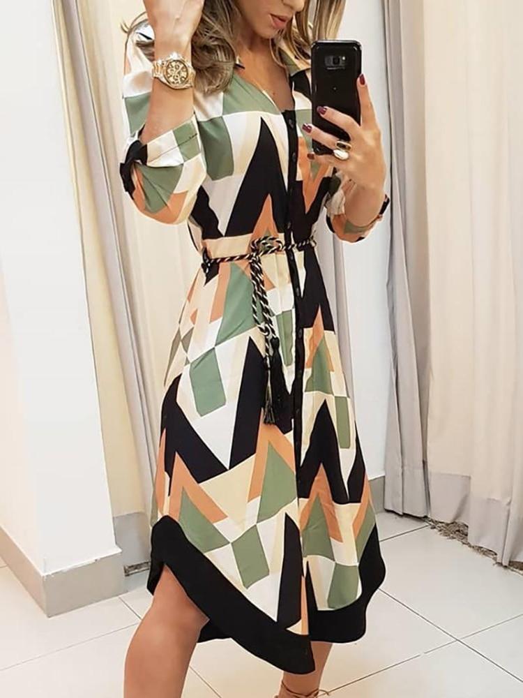 Купить 2020 летнее женское элегантное платье для отдыха стильное похудения