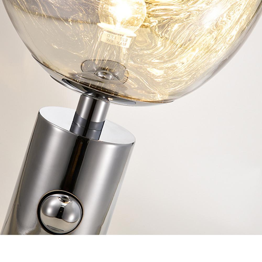 Nordic Vulkanische Lava Tafellamp, Postmoderne PVC Bureaulamp, nachtkastje voor Slaapkamer Bedside Studeerkamer 10 x 17 - 5