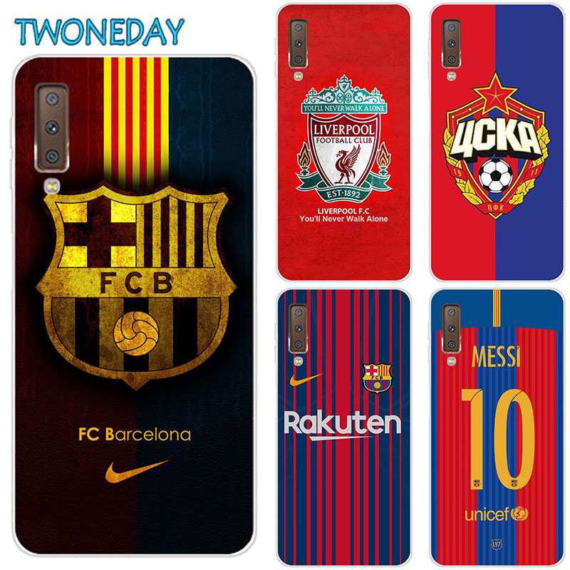 Messi Football Phone <font><b>Case</b></font> For <font><b>Samsung</b></font> <font><b>Galaxy</b></font> A70 A705 <font><b>A50</b></font> A40 A30 A20E A20 A10 A10E A80 Fashion Soft Silicone Animal Cover Coque image