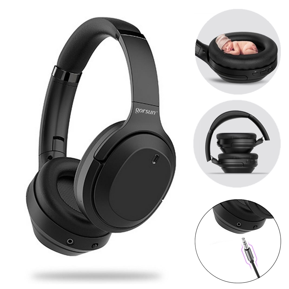 Gursun M98 Anc Active Noise Cancelling Headphones Bluetooth Headset 5 0 Wireless Headphones Hif Stereo Foldable With Microphone Buy At The Price Of 94 47 In Aliexpress Com Imall Com
