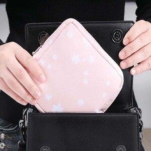 Women Small Cosmetic Bag Set Zipper Girls Mini Makeup Lipstic Bags Travel Earphone Coin Napkin Organizer Pouch Bag(China)
