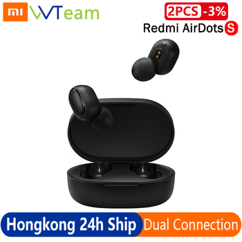 Xiaomi Redmi AirDots 2 TWS Wireless airdots S Bluetooth 5.0 Earphone Noise Reduction With Mic Handsfree Earbuds AI Voice Control