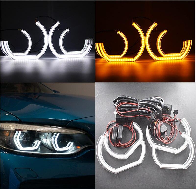 BMW F30 F31 F34 GT Angel Eye LED DRL Diode Insert Module 63117311243 63117398766