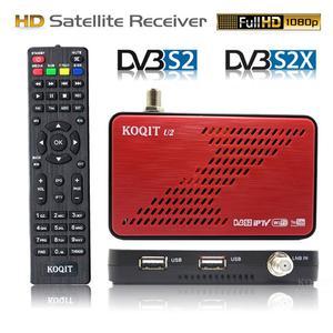 Koqit U2 DVB-S2X DVB-S2 FTA satellite receiver satellite decoder iPTV Receptor Scam /Newcam Auto Biss key USB Wifi/RJ45 Youtube(China)