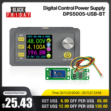 RD DPS5005 módulo de fuente de alimentación de reducción de corriente de voltaje, convertidor de voltaje buck, voltímetro 50V 5A