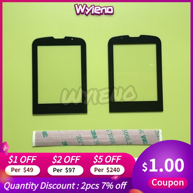 Wyieno CTE560 Outer Glass Screen For Philips Xenium E560 Glass Lens Front Panel ( Not Touch Screen Sensor) Tracking