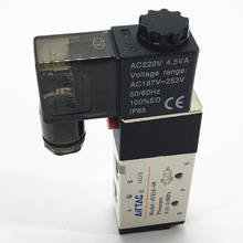 цены pneumatic tools Quality pneumatic components AIRTAC  solenoid valve  valves air valve Voltage is 220V  4V210-08