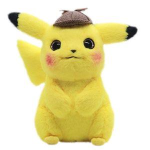 2020 TAKARA TOMY Pokemon Detective Pikachu Plush Toys Stuffed Toys Pokémon Pikachu Anime Dolls Christmas Birthday Gifts for Kids