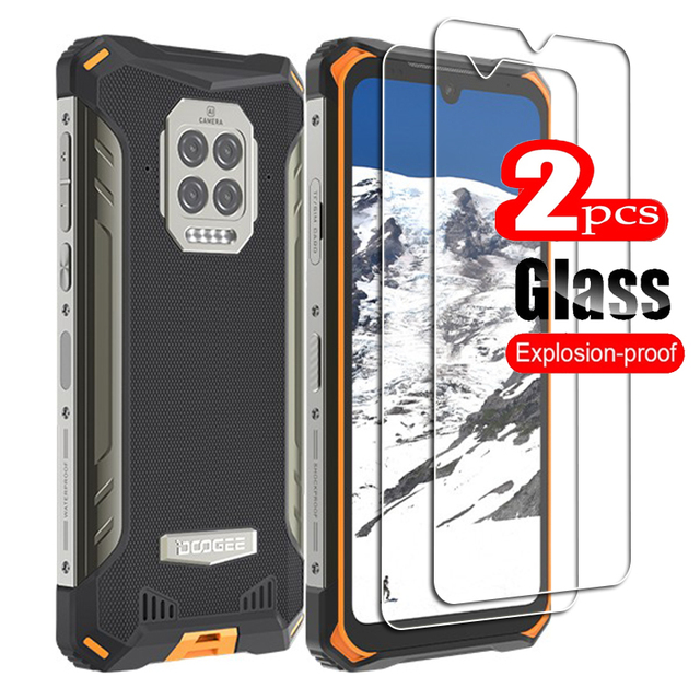 Per Doogee S86 vetro temperato protettivo su DoogeeS86 6.1NCH pellicola salvaschermo per smartphone