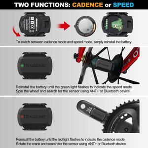 Image 4 - MAGENE gemini 210 S3+ Speed Sensor cadence ant+ Bluetooth for Strava garmin bryton bike bicycle computer speedometer