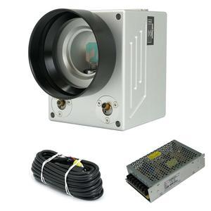 Image 2 - משלוח חינם SINO GALVO SG7110 SG7110A 1064nm 10mm לייזר גלונומטר Galvo סורק Galvo ראש עבור סיבי לייזר סימון מכונת