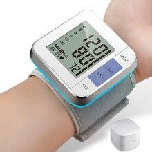 Cigii tonometr inteligentny wyświetlacz cyfrowy bransoletka pulsometr 1 sztuk opieki zdrowotnej ciśnieniomierz nadgarstkowy