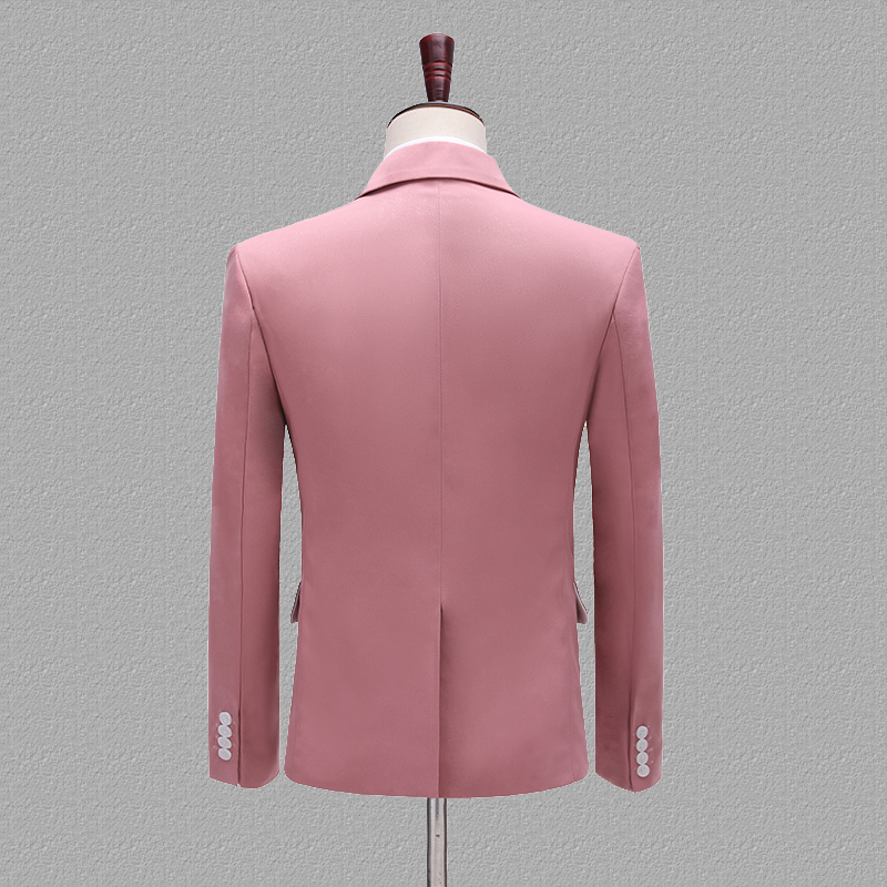 Designs Singers Two Suits Pink Stage Pant Wedding Set Blue Groomsman Khaki Piece Yellow Latest Coat Costume Mens PYJTRL Groom