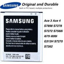 Original Samsung B100AE Battery For SAMSUNG Galaxy Ace 3 Ace 4 S7898 S7278 S7272 S7568i i679 i699i G313H S7270 S7262 1500mA mallper replacement 3 7v 1200mah li ion battery for samsung galaxy ace s5830 orange