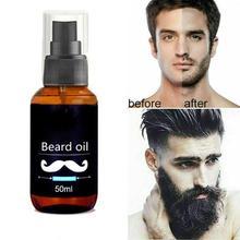 Growth Beard Oil Beard Grooming Treatment Beard Care Beard Boys Hair fast For Men Care Grow Thicken More Beard Oil Facial B H6O1