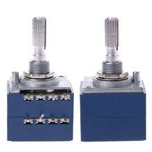8 Pin потенциометр RH2702 зубчатые Разделение вал 6 мм Точность 27-тип A100K 100K Прямая поставка