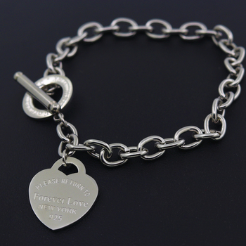 Hot Sale Buckle Design Bracelet New Style Brand Women Bracelet Gold Chain Heart Bangles Carter Bracelets Pulseira Fine Jewelry 1