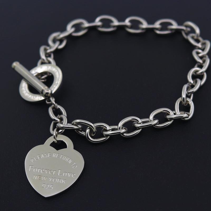 Hot Sale Buckle Design Bracelet New Style Brand Women Bracelet Gold Chain Heart Bangles Carter Bracelets Pulseira Fine Jewelry
