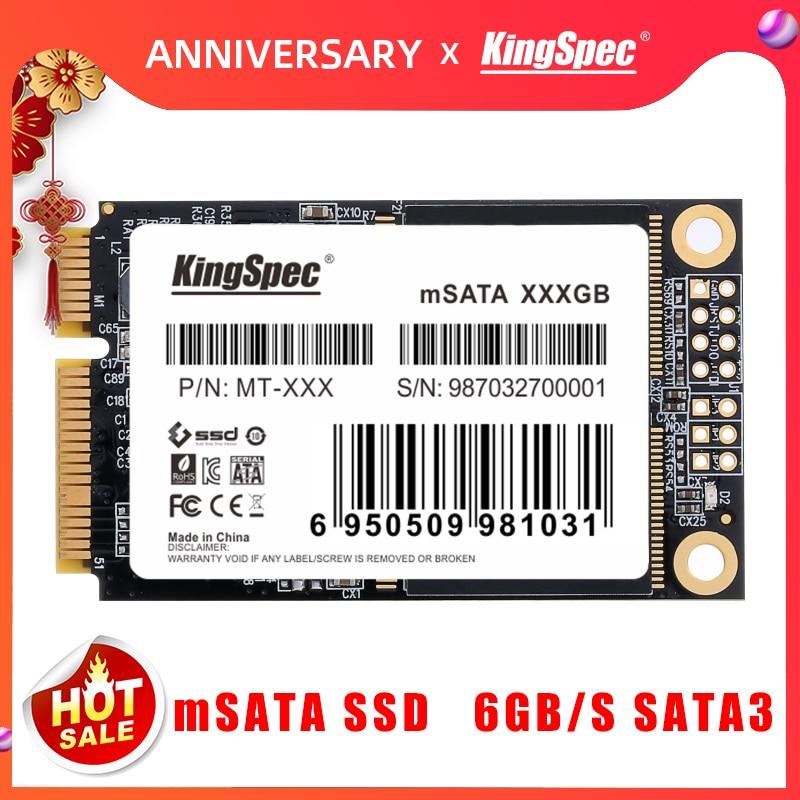 KingSpec mSATA SSD 120gb 240gb 512GB mSATA SSD 1TB 2TB HDD For computer 3x5cm Internal Solid State hard Drive for hp laptop(China)