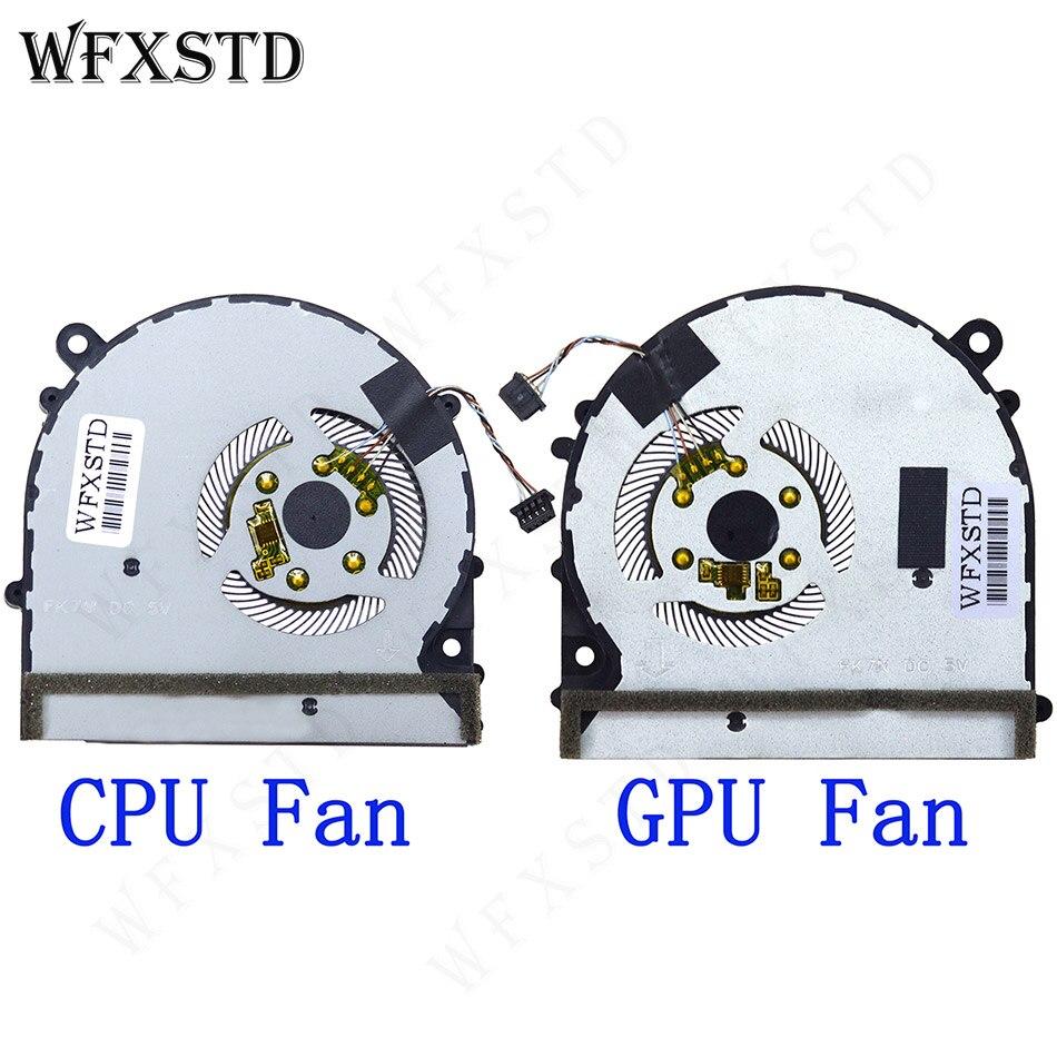 Nouveau ventilateur CPU GPU pour Xiao mi air PRO 15.6 refroidisseur d'ordinateur portable radiateurs radiateur ventilateur de refroidissement ND55C05-17E23 ND55C05-17E22 6033B0059101